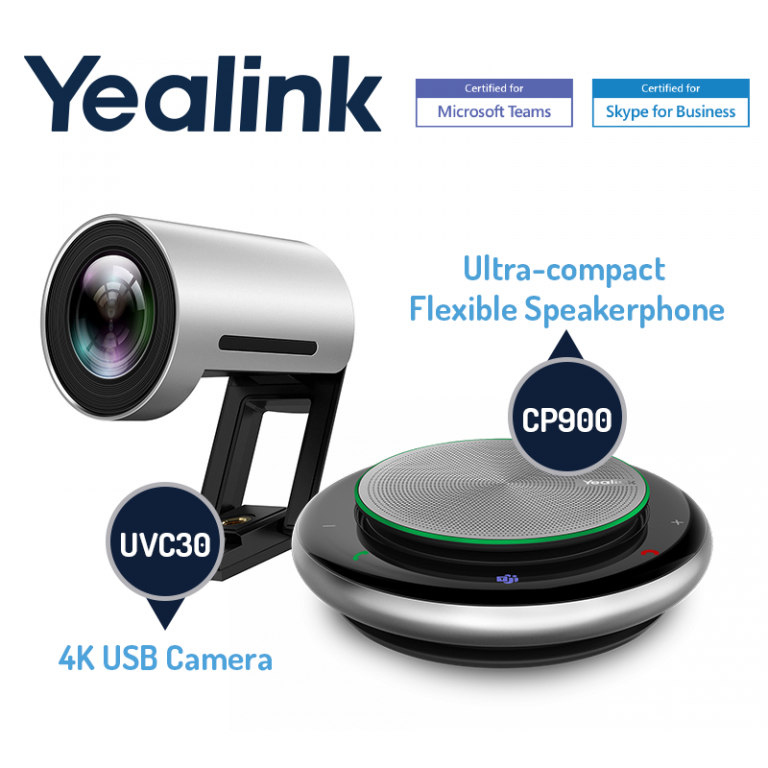 Yealink Speakerphone and webcam